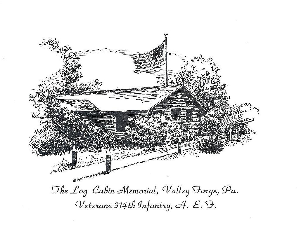 314th Memorial Log Cabin