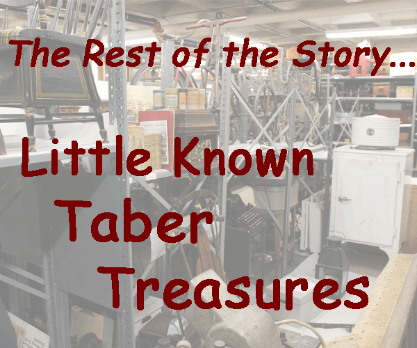 Little Known Taber Treasurers